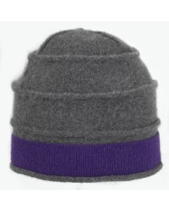 Beehive - Grey with Purple