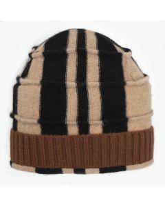 Beehive - Pattern Tan, Black with Brown