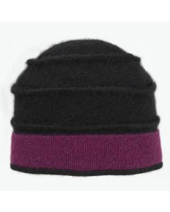 Beehive - Black with Pink