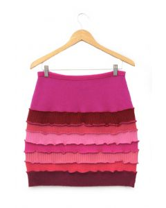 Banded Skirt - Pink
