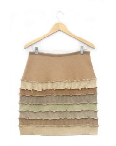 Banded Skirt - Tan