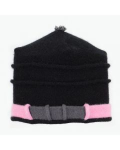 Saturn - Black with Pink