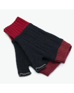 Cuffs - Blue with Red