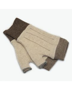 Cuffs - Tan with Brown