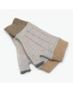 Cuffs - Grey with Tan
