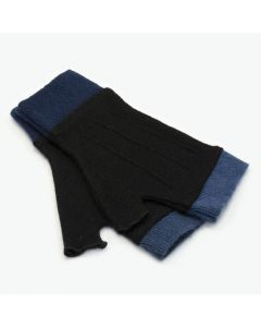 Cuffs - Black with Blue