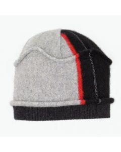 Gazebo - Pattern Black, Grey, Red