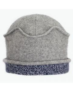 Gazebo - Grey with Blue Pattern
