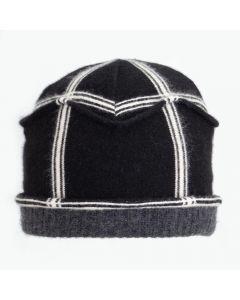 Gazebo - Pattern Black, White with Grey