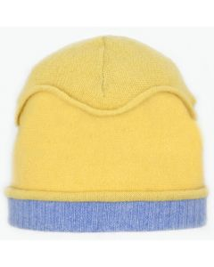 Gazebo Hat GZ8041 Yellow w/ Azure Blue
