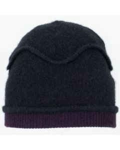 Gazebo Hat GZ9053 Black w/ Dark Plum Burgundy - Small