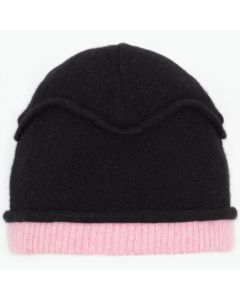 Gazebo Hat GZ9069 Black w/ Rose Pink