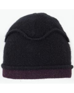 Gazebo Hat GZ9098 Black w/ Deep Purple