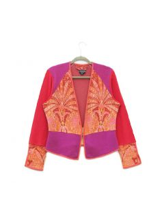 Veronica Red Paisley- X-Large