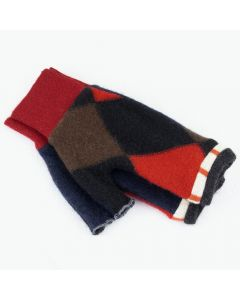 Fingerless Mitten - Small MS9388 Red