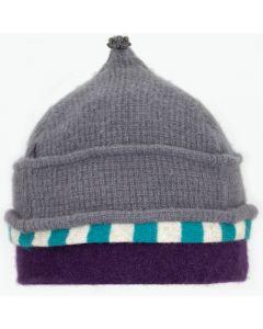 Onion Hat ON8194 Grey w/ Teal Green