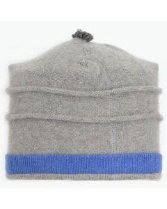 Saturn Hat S9032 Grey w/ Cornflower Blue
