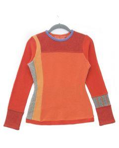 Trixie - Orange with Grey