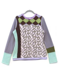 Trixie - Pattern Purple, Green