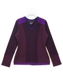 V-Neck - Purple
